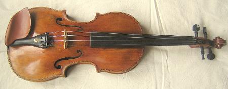 Geige Meisterinstrument Sachsen Mitte 19. Jahrhundert, unbekannter Meister